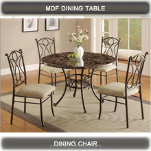 Classical marble one table and four chairs 49243