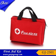 GJ-2501 17 years manufacture experience emergency medical bag,car emergency kit,car first aid kit for car