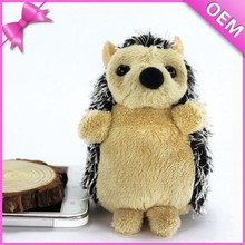 Factory custom baby hedgehog plush animal toy depend on pictures or sketch