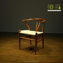 Replica solid wood ash Hans J Wegner Y Chair Wishbone Chair