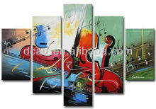 Hot selling musical instrument canvas for decor