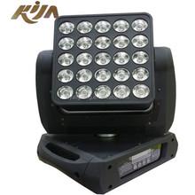 led beam 25x12w Rgbw 4in1 Matrix Moving Head Light