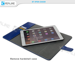 For ipad air 2 360 degree Rotating flip leather case