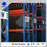 2013 Jracking hot sale storage metal equipment kart tire rack
