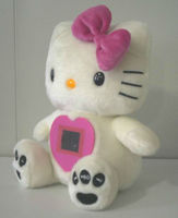 Cute plush toy photo picture frame