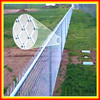 Removable chain link fence/safety chain link fence