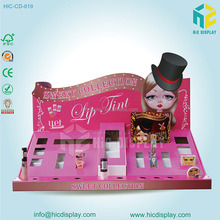 Hot sale counter display stand for cosmetics promotion