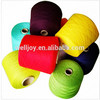 Welljoy top quality 402 503 603 100% spun polyester twisted dyed yarn in plastic dyeing tube