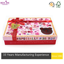 2015 New Design Promotion Archaize Style Vegetable Packaging Carton Boxes Box