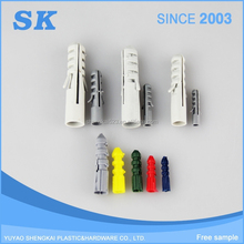 Good price hight quality fisher wall plug anchors,all kinds of nylon plastic wall anchor