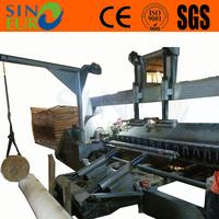 wood veneer peeling rotary lathe machine