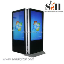 55 Inch apple style dual display led advertising display/lcd advertising display/ advertising display screen