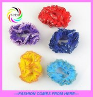 colorful ponytail holders baby hairband girls hairband hair decoration
