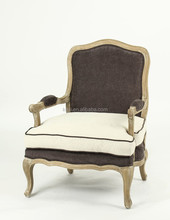 furniture living room hand carved armchair(CH-863-Oak)