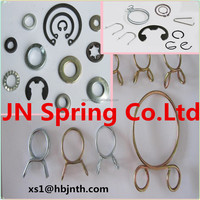 Zinc-plated high quality material clip wire forming spring