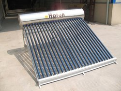 2015 popular compact non-pressure solar water heater widely used