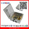 2015 K-68 YGY 38w 12V 3.8a 4 channels outputs cctv power supply for camera with glass fuse