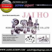 Accessories of screw/screw and cylinder for plastic injection machine/screw barrel parts