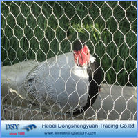 have a stock poultry fence used triple twist galvanized hexagonal wire mesh (in anping factory )