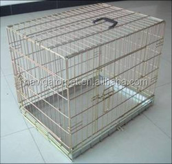 Portable Dog Cage With Hand Grip