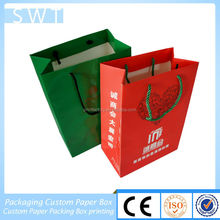 Factory price Christmas Paper Bag/ Gift Paper Bags/shopping Bag For Channel made in Guangzhou China