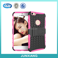 Hybrid combo case with kickstand fit for iphone 6s plus