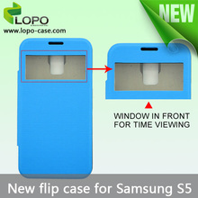 factory direct price 2D sublimation printing flip case for Samsung Galaxy S5