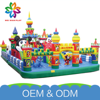Colorful Attractive Funny Park Exercise Playground Customized Jumping Bouncer