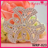 Fashion rhinestone applique shoe decoration ornament WRP-023
