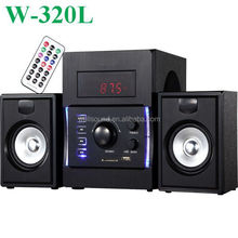active subwoofer 20W with USB/SD/FM/Mini Remote Control
