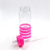 any colour clear drinking bottles hot sale flexible water bottle