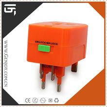 Airport Hot selling products Items Universal Multi Adaptor Plug with IEC CE ROHS