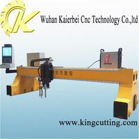 gantry cnc cutting metal plates machine otc plasma