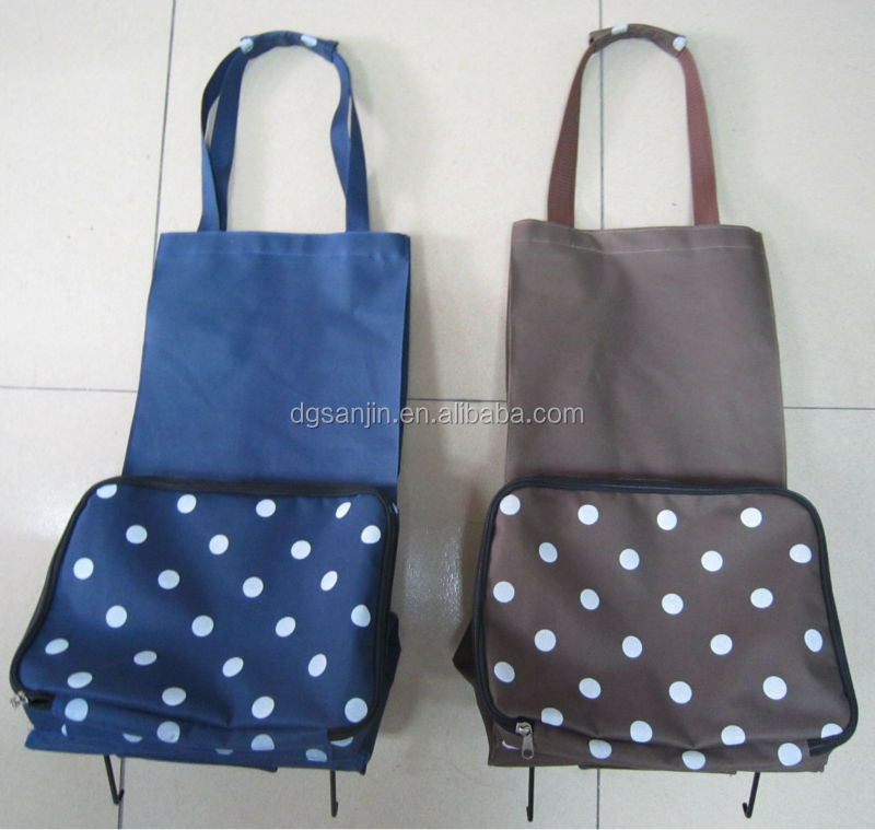 2015 Durable hot sale nylon foldable shopping bag