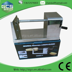 hot selling tornado potato machine, tornado potato cutter, twister potato / potato cutting machine,