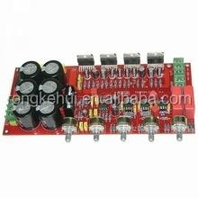 Dual AC 2.1 Channel BTL Output 2*80W+160W Hifi Fever Bass Amplifier Board