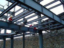 High Quality Light Steel Structure/Construction for house/villa/home/workshop/ warehouse