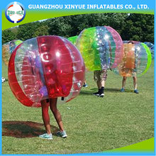 Sports ball for big man inflatable bubble soccer for sale