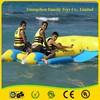 Fabulous!!! high quality inflatable banana boat/fly fish tude/water games flyfish made from Guangzhou