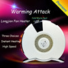 2015 Latest electronic mul-function portable fan heater with well designed CE,LVD,EMC,ROHS certified/ mini fan heater
