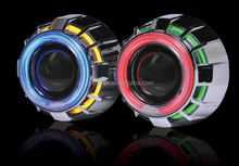 """12V 3.0"""" inch HID Bixenon Projector Lens Double Angel Eye CCFL H1 H7 H4 H13 HB3 HB4 9004 9007+2pcs 35w AC Ballasts for Headlamp"""