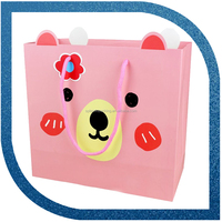 Private Label Construction Paper Bag With Handle