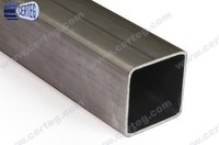 Q195~Q235, Fe310, Fe360, St33, St37-2, SS400 Carbon Steel or Mild Steel 30x30mm ERW Square Steel Pipe