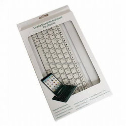 New style classical for ipad 2 aluminum case with keyboard