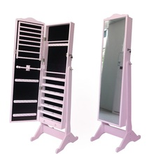 french style furniture mirrored jewelry armoire made in china factory hot in world