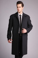 European fashion winter long wool coat