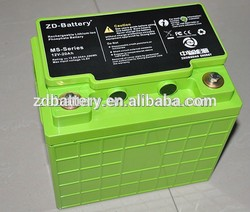 LiFePo4 12V 40Ah for industrial cleaning machines