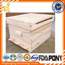 Top sale One level beehive/ two levels wooden beehive from China best supplier