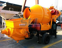 China Top electric concrete pump cement mixer 280 with plastic drum