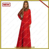 latest fashion islamic clothing muslim abaya in india kaftan abaya KDT6017 dubai abaya with low price